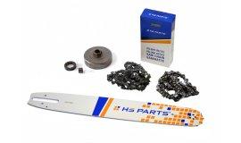 Schiene 40 cm + 2x Kette 60 Glieder 3/8 1,6mm + Kettenrad Stihl MS660