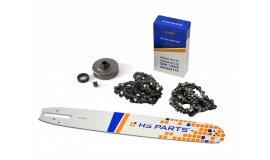 Schiene 40 cm + 2x Kette 60 Glieder 3/8 1,6mm + Kettenrad Stihl MS360