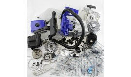 Komplettes Reparaturset für Stihl Stihl MS440 044 MS460 046 - blau Kombination