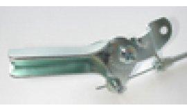 Gaskabel mit Manschette UNIVERSAL Metall 1400mmx1300mm