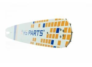 """HS PARTS Führungsschiene 18"""" (45 cm) 3/8"""" .050"""" (1,3 mm) 64 Gl."""